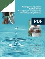 Testing Aqua Ponic Water