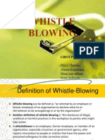 Whistle Blowing Presentation Final