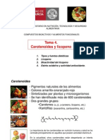 Tema 4. Carotenoides y Licopeno