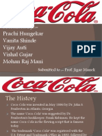 Coke Project for MM