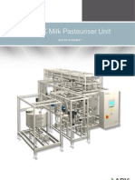 APV FX Milk Pasteuriser Unit 6211 02-04-2012 GB