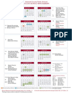 2012 2013 GCPS Calendar Revised