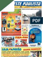 """Jornal """"O Oeste Paulista"""" edição 4011 de 07/12/2012"""
