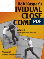 ICCPDF Bob Kaspers Individual Close Combat Volume 1 Principles and Tactics Volume II Stance and Movement Free Sample