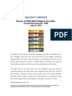 Philippine Money Security Features