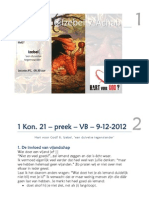 1 Kon. 21 – preek – VB – 9-12-2012 - Izebel, een duivelse tegenstander. web