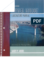 106086903 Physical Geology Laboratory Manual 4th Ed
