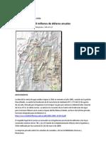 Informe Agua Riojana a Chile 130 Millones de Dolares Anuales 04-10-12