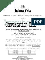 2012_Modulo 21P - Conversation Club_maggio 2012