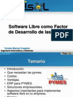 Presentacion Soft Libre Pymes Fisol