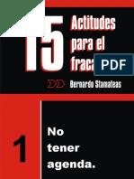 15 Actitudes Para El Fracaso - Bernardo Stamateas