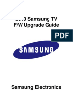 2010 Firmware Upgrade Instruction for LCD TV T-SAT4AUSHC