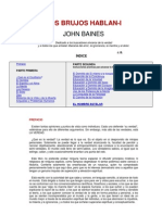 Los Brujos Hablan-i_john Baines