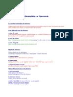 Anatomie introduction à l'anatomie 2.Généralités sur l'anatomie