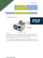 1.-Unidad Didáctica(SOFTWARE Y HADWARE) La fuente de alimentación.