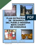 2006 - 2015 - Plan Estrategico de Desarrollo del Pueblo Indigena Maya Chorti de Honduras