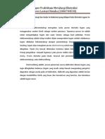 Elektrometalurgi dan Kadar Sn Maksimal