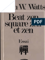 Alan Watts Beat Zen