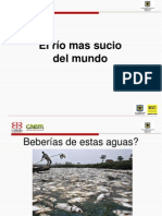 PRESENTACION RIO MAS CONTAMINADO DEL MUNDO