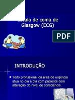 ESCALA DE COMA DE GLASGOW APRESENTAÇÃO- Trabalho de Primeiros Socorros