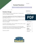 May 2012 Katoland Newsletter