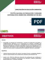 Presentacion Jornadas Consumo Sostenible Test Huella Ecologica