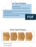 WCDMA Drive Test Analysis