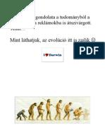 Darwin humor 1. (fekvő lapok)