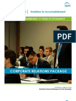 APEX 2013 Corporate Relations Package