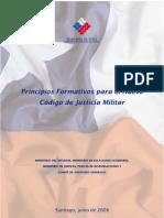 Principios Formativos de Un Nuevo Código de Justicia Militar