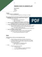 Leg Reg Outline (Admin v)