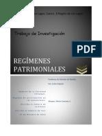 Trabajo de Regimenes Patrimoniales