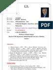 C.V  Dr.Kalantar 2012 cv