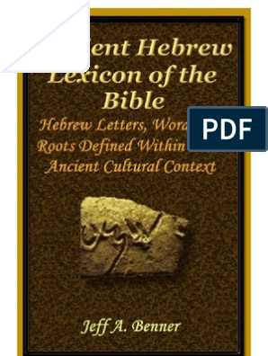CursoDeHebreo com ar - The Ancient Hebrew Lexicon of the Bible