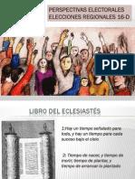 Perspectivas Electorales Regionales 16D