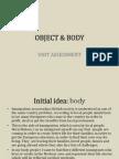 Object&Body Final Assessment