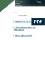 8 DECRETO LEGISLATIVO Nº 1094  CODIGO PENAL MILITAR POLICIAL