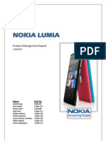 Product Management Project Report_Nokia Lumia (1)