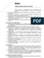 CÓDIGO DE ÉTICA Banco do Brasil