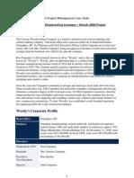 A Project Management Case Study- Ram