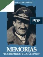48426850 General Adolf Galland Memorias Los Primeros y Los Ultimos