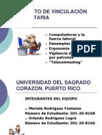 Trabajo de Vinculacion Comunitaria INF 105 71 Las Computadoras y El Trabajo. Mariela y Orlando Rodriguez