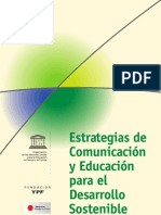 Estrategias de Comunicacion y Educacion Para El Desarrollo Sostenible (Unesco)