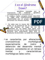 Educacion Especial Sindrome de Down