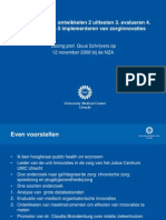 zorginnovatie proces
