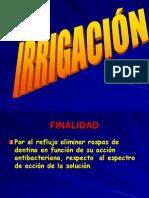 5 Irrigación