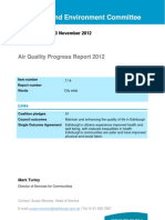 Air Quality Progress Report