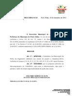 Portaria n 2506 de 16-12-2011 Calendario de Elaboracao Da Difp