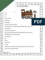 Polar Express Checklist
