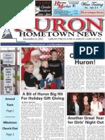 Huron Hometown News - December 6, 2012
